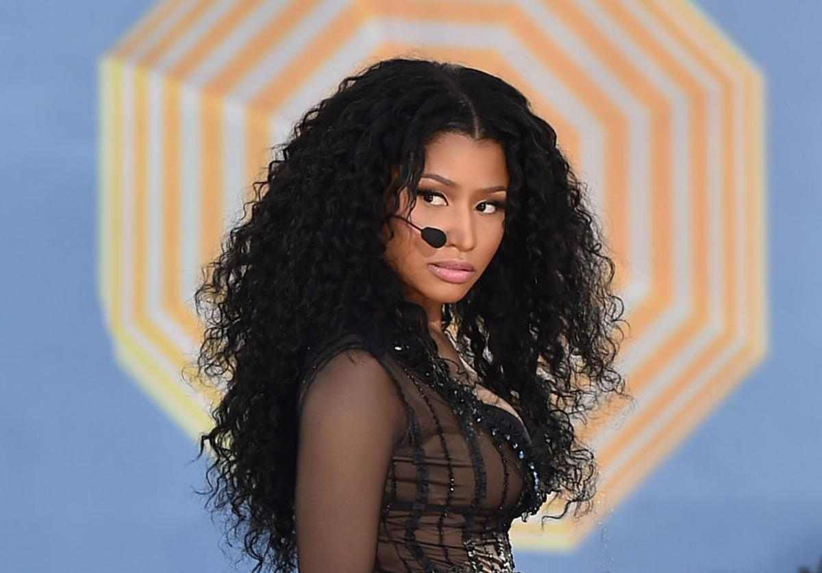 Nicki Minaj Performs On ABC's 'Good Morning America' at Rumsey Playfield, Central Park on July 24, 2015 in New York City.