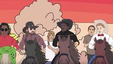 """Lil Nas X, Young Thug, Billy Ray Cyrus Storm Area 51 In """"Old Town Road"""" Remix Video"""