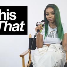 """Abby Jasmine Explains Why She Chooses Drake Over Lil Wayne On """"This Or That"""""""
