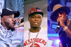 """50 Cent & Tory Lanez Conquer This Week's """"FIRE EMOJI"""" Playlist"""
