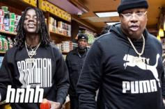 E-40 & OMB Peezy Have An Accidental Food Fight