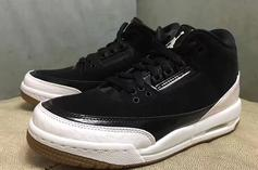 """Air Jordan 3 """"Black/White"""" To Release In February: First Look"""
