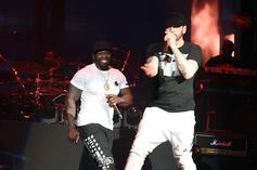 """50 Cent Declares Eminem His """"Favorite White Boy"""" In Joint Photo"""