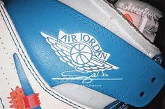 "Off-White x Air Jordan 1 ""UNC"" Release Info Revealed"