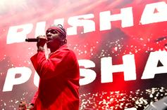 """Pusha T Unveils New Merch To Coincide With """"Daytona"""" Drop"""