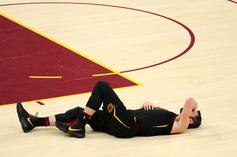 Kevin Love Evaluated For Concussion After Collision With Jayson Tatum