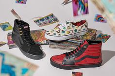 Vans x Black Panther Sneakers Releasing As Part Of Marvel Collab
