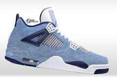 """Acid Wash Denim"" Air Jordan 4s & 6s Rumored To Release"