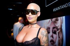 """Amber Rose Calls Out Double Standard In Kanye West's """"I Love It"""""""