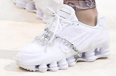Comme des Garcons x Nike Shox Collab Surfaces At Paris Fashion Week