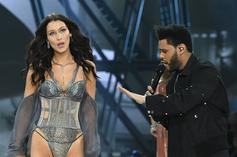 The Weeknd Wishes Bella Hadid A Happy Birthday With Kiss-Heavy Gallery