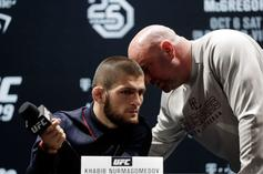 "Dana White Calls ""Bullshit"" On Khabib vs McGregor Rematch Rumors"