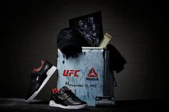 UFC x Reebok Sneaker Collab Features Quality Leather Inspired By UFC Gloves