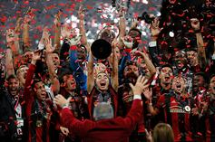 MLS Champs Atlanta United Party With MLS Cup At Magic City:Video