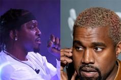 """Pusha-T On Working With Kanye West: """"He Basically Has My Life In His Palm"""""""