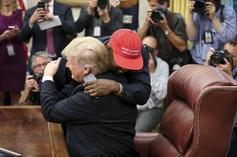 """Donald Trump """"Cable Jumps"""" His Bromance With Kanye West"""