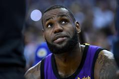LeBron James Out At Least Three More Games With Groin Injury