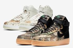 "Nike Air Force 1 High ""Realtree"" Release Details"