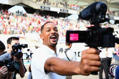 """Will Smith Grants Fan's Wish For """"Thirst Traps"""" With An Indulgent Photoset"""
