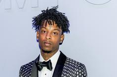 21 Savage's Mugshot For Felony Theft In Concert Case Emerges