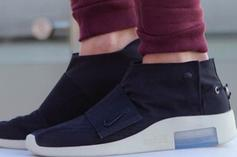 Nike Air Fear Of God Moccasin On-Foot Images
