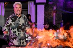 Guy Fieri Talks Steph Curry And Kevin Durant While Sneaker Shopping