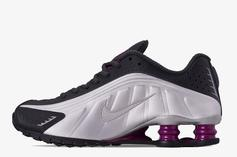 "Nike Shox R4 ""True Berry"" Detailed Images And Release Info"