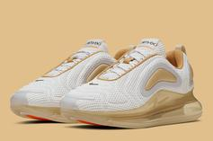 """Nike Air Max 720 """"Pale Vanilla"""" First Images Revealed"""