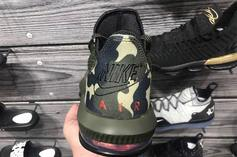 """Nike LeBron 16 Low """"Camo"""" Release Details & New Images"""