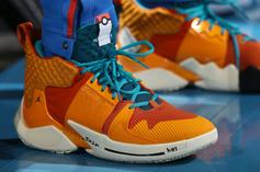 "Russell Westbrook Debuts ""Charizard"" Jordan Why Not Zer0.2 Colorway"