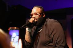 Rick Ross Gets Nipsey Hussle's Face Placed On His Elevator Doors