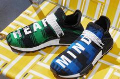Pharrell Adidas NMD Hu X BBC Releases In Plaid Colors This Friday: Photos