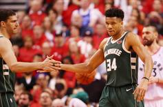 Giannis Antetokoumpo Reacts To Struggling In Game Three Against Raptors