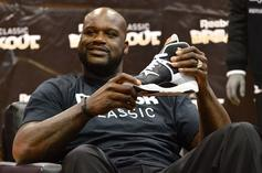 Shaq Professes His Love For Reebok, Says He Wants To Be Part Owner