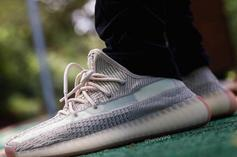 """Adidas Yeezy Boost 350 V2 """"Citrin"""" Coming This Fall: On-Foot Images"""