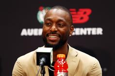 Kemba Walker Puts On His Celtics Outfit For The First Time, Fans React