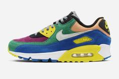 "Nike Air Max 90 QS ""Viotech 2.0"" Release Date Revealed: Official Photos"