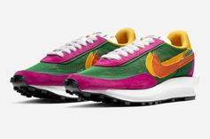 Sacai x Nike LDWaffle Revealed In Three New Colorways: Official Images