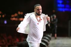 """French Montana & Drake Celebrate Montana's """"Haute Living"""" Cover & Party At LIV"""
