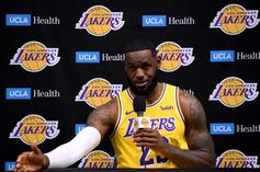 LeBron James Teases Lakers Fans With Revitalized GOAT Energy