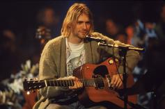 Kurt Cobain's Iconic Sweater From 'Unplugged' Performance Hits Auction