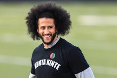Colin Kaepernick's New Nike AF1 Collab Showed Up At His Workouts