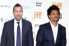 "The Weeknd Showered With Praise From His ""Uncut Gems"" Costar, Adam Sandler"
