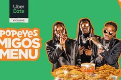 """Popeyes & Migos Team Up To Launch Exclusive """"Migos Menu"""" With Uber Eats"""