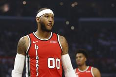 Blazers Head Coach Reacts To Carmelo Anthony's Hot Start