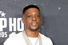 Boosie Badazz Doesn't Flinch While Performing As Fan Licks His Neck