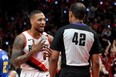 """Damian Lillard Calls Refs' Apology For Missed Call """"Punk Ass Shit"""