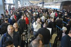 Coronavirus Has Travellers Crammed Together In Customs Line For Hours