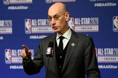 Adam Silver Concedes That COVID-19 New Wave Could End NBA Restart