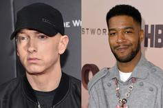 "Kid Cudi & Eminem's ""The Adventures Of Moon Man & Slim Shady"" Cover Art Revealed"